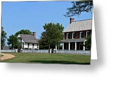 Clover Hill Tavern Appomattox Court House Virginia Greeting Card