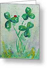 Clover Patch Greeting Card