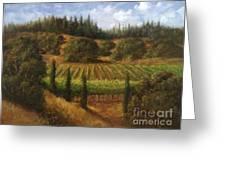 Cloverdale Vines Greeting Card