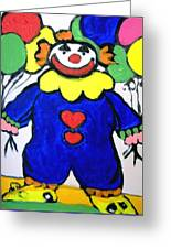 Clown For Jack Greeting Card