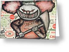 Clown Nightmare Greeting Card