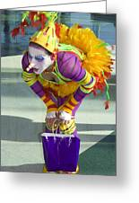 Clowness Greeting Card