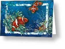 Clowning Around - Clownfish Greeting Card