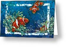 Clowning Around - Clownfish Greeting Card