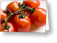 Cluster Of Tomatoes Greeting Card