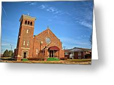 Clutier Community Center Greeting Card