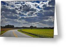 Clyde Fitzgerald Road Scenery Greeting Card