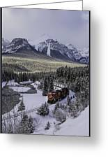 Cn On Morant's Curve Greeting Card