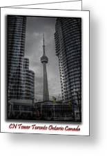 Cn Tower  Greeting Card