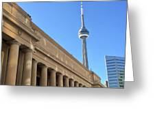 Cn Tower Toronto Greeting Card