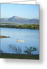 Co Mayo, Ireland Fishing Boat In Clew Greeting Card