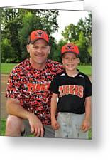 Coach Sodorff And Cody 9740 Greeting Card