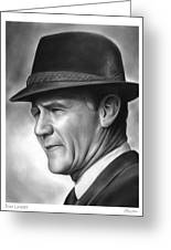 Coach Tom Landry Greeting Card