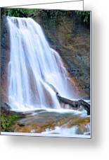 Coal Creek Falls Greeting Card