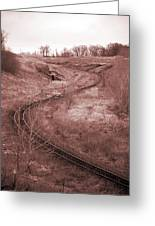 Coal Line S Greeting Card by Jame Hayes
