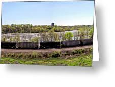 Coal Train Greeting Card