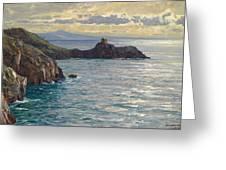 Coast At Amalfi Greeting Card