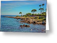 Coast At Antibes France Dsc02221 Greeting Card