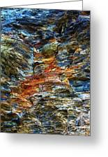Coast - Color Of Rock Greeting Card