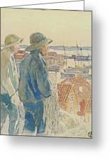 Coast Fishermen Greeting Card