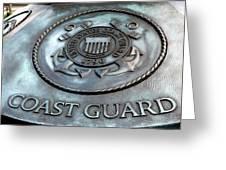 Coast Guard Greeting Card