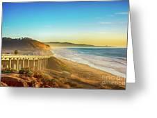 Coast Highway Del Mar Greeting Card