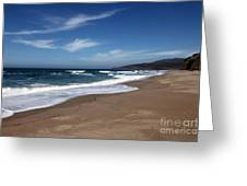 Coast Line Greeting Card