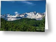 Coast Mountains Greeting Card