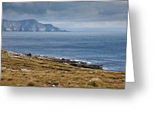 Coast Of Achill Island Greeting Card
