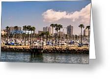 Coast Of Long Beach #3 Greeting Card