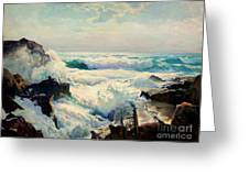 Coast Of Maine Greeting Card