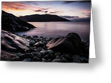 Coast Of Norway Greeting Card