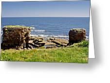 Coast. Seascape 1. Greeting Card