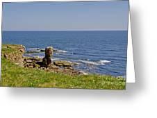 Coast. Seascape 3. Greeting Card