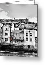 Coast - Whittby House Greeting Card