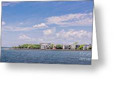 Coastal Area Of Charleston Greeting Card