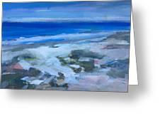 Coastal Blues Greeting Card