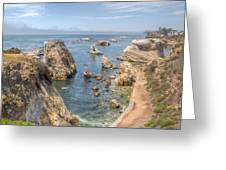 Coastal California Greeting Card