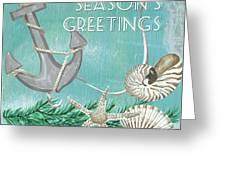 Coastal Christmas 4 Greeting Card