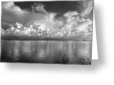 Coastal Clouds 2 Greeting Card