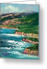 Coastal Coves Greeting Card