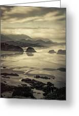 Coastal Dawn Greeting Card