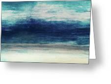 Coastal Escape 2- Art By Linda Woods Greeting Card