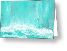 Coastal Inspired Art Greeting Card