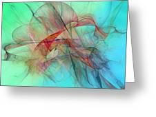 Coastal Kite Greeting Card by Betsy C Knapp