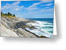 Coastal Maine Greeting Card