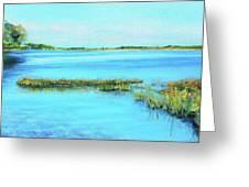 Coastal River Greeting Card