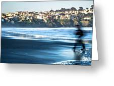 Coastal Scenes At Usa Pacific Coast Greeting Card