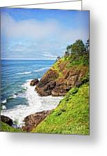 Coastal View From North Head Greeting Card