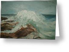Coastal Waters Greeting Card